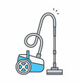 vacuum cleaner icon vector image vector image
