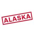 Alaska rubber stamp vector image vector image