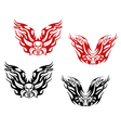 Bikers and bikes tattoos vector image vector image