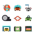 Car service repair icons set vector image vector image