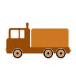 Cargo car symbol icon vector image