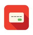 credit card icon vector image vector image
