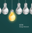 Electrical Bulbs vector image