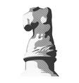 statue 003 vector image