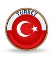 Turkey Seal vector image