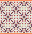 vintage floor tiles ornament purple pattern vector image vector image