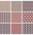 Set of Pattern vector image