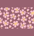 abstract decorative frangipani floral vector image