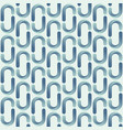 abstract seamless pattern of smooth rounded vector image vector image