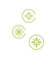 alternative renewable sustainable energy logo vector image vector image