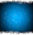 Christmas blue abstract background vector image
