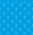 mousetrap pattern seamless blue vector image vector image
