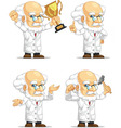 Scientist or Professor Customizable Mascot 7 vector image vector image