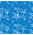 seamless pattern snowflake vector image vector image
