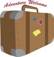 Adventure Welcome vector image vector image