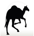 camel in Running pose vector image vector image