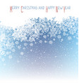 Christmas Postcard New Year Greeting Isolated vector image vector image