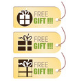 Free gift tag