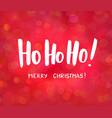 Ho-ho-ho and merry christmas text hand drawn