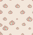 meringue dessert Hand drawn sketch on pink vector image vector image