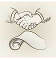 The agreement vector image