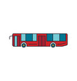 tourist bus icon cartoon style vector image vector image
