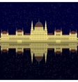 Hungarian City sight Hungary Landmark Travel And vector image