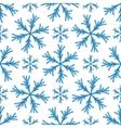 Falling snow seamless pattern White splash vector image
