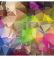 abstract triangular mosaic pattern vector image vector image