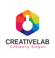 Creative Lab Design vector image vector image