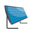 energy generation icon flat style vector image vector image