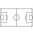 football field eps 10 vector image vector image