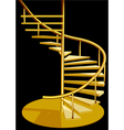 stairs interior vector image vector image