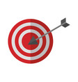target arrow success icon vector image