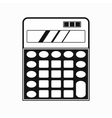 Calculator icon simple style vector image vector image