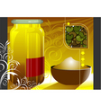 grain and cereal product vector image vector image
