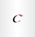 letter logo c icon symbol design vector image vector image
