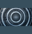 technology futuristic abstract hardware interface vector image vector image
