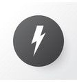 thunderstorm icon symbol premium quality isolated vector image vector image
