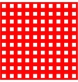 White cages on red background seamless pattern vector image vector image