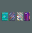 abstract cover design banners vector image vector image