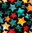 abstract stars seamless vector image