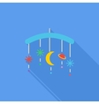 Bed carousel vector image