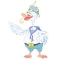 goose symbol vector image vector image