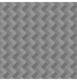 Gray geometric rectangle seamless background vector image vector image