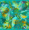 artistic summer grunge seamless pattern vector image vector image