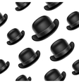Bowler hat background vector image vector image
