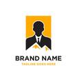 climbing business logo vector image vector image