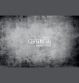 grunge vignette old dirty paper background vector image