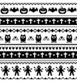 halloween seamless pattern with bats owls vector image vector image